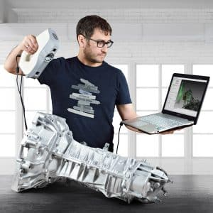 scanner 3D Artec EVA GearBox