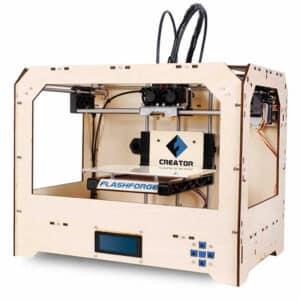imprimante 3D Flashforge Creator Dual perspective