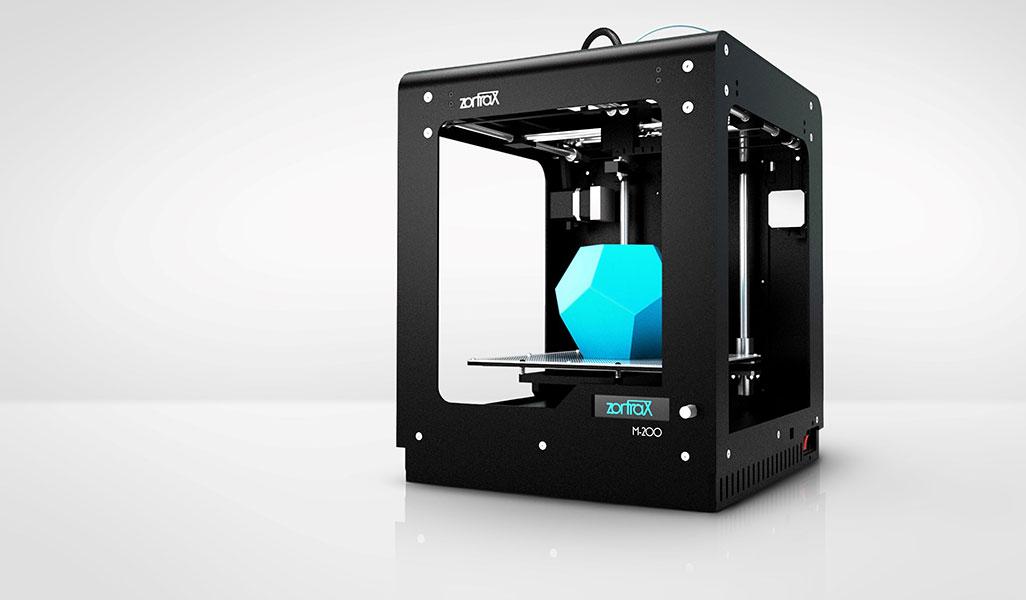 imprimante 3D Zortrax M200 perspective