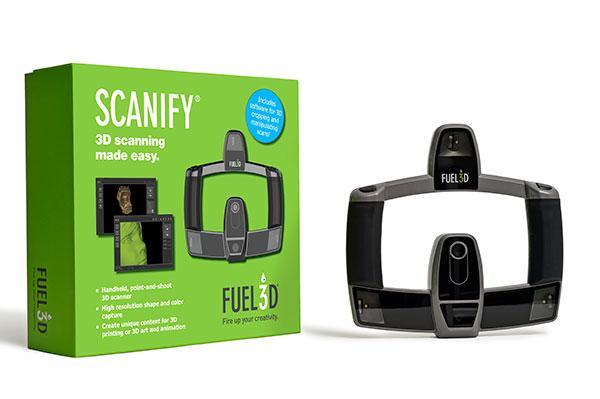 Scanify Fuel3D - Scanners 3D