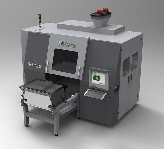 S-Print ExOne - Imprimantes 3D