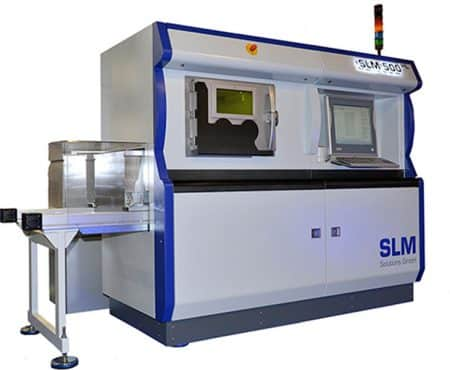 SLM 500 SLM Solutions  - Grand format, Métal