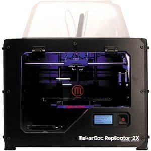 imprimante 3D Makerbot Replicator 2X, face