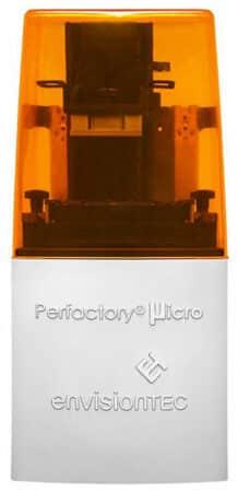 Perfactory Micro HiRes EnvisionTEC - Résine
