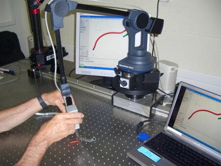 G2LX MicroScribe - Métrologie