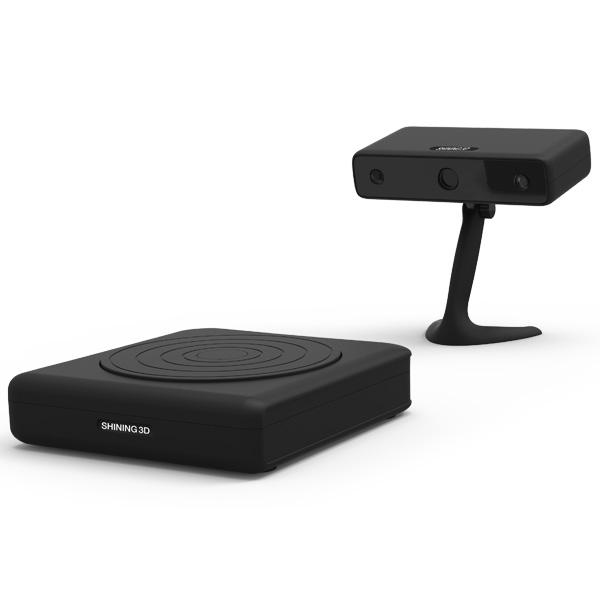 Le EinScan-S: un scanner 3D rapide, performant et abordable