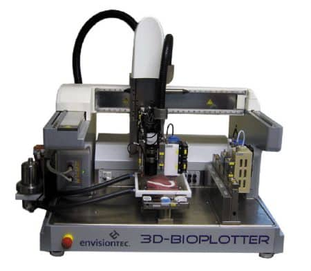 3D-Bioplotter Manufacturer Series EnvisionTEC - Bio-impression, Céramique, Silicone