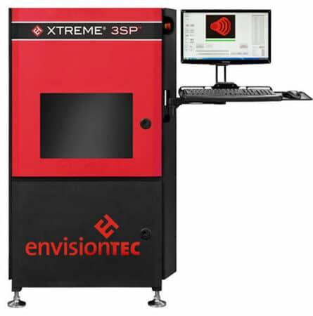 Xtreme 3SP EnvisionTEC  - Grand format, Résine