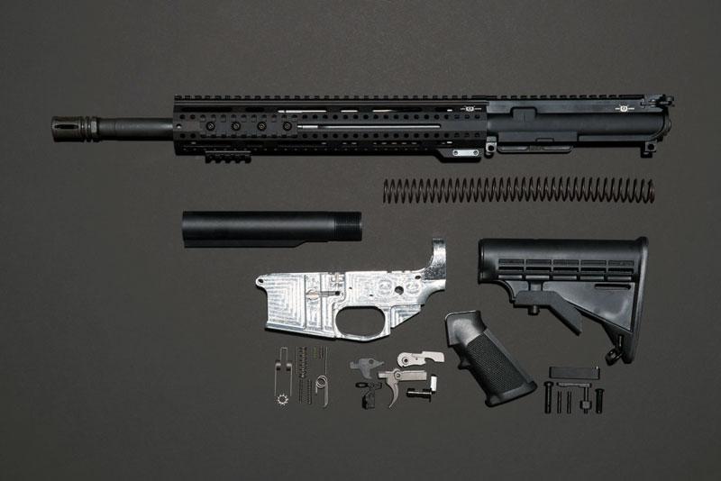Armes à feu et impression 3D