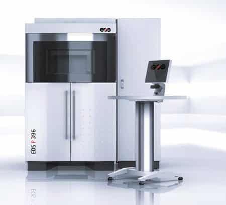 EOS P 396 EOS  - Fabrication hybride, Grand format, SLS - FR