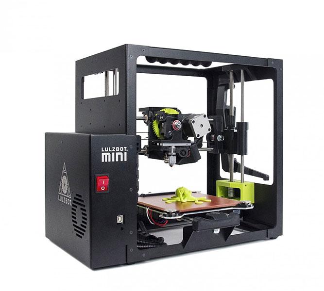 imprimante 3D LulzBot Mini perspective