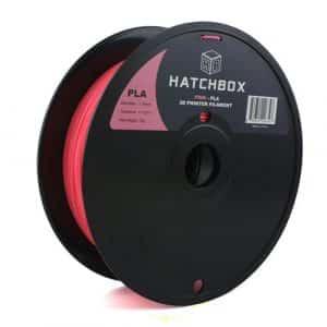 filaments 3D Hatchbox 1.75mm Pink PLA 3D Printer Filament