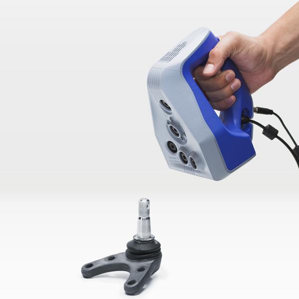 scanner 3D Artec Space Spider, pris en main