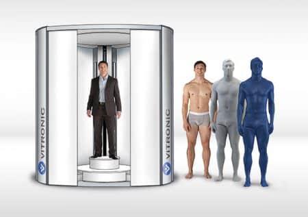 VITUS 3D body Scanner Vitronic - Scan corporel