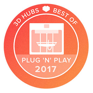 Awards-3D-printer-3D-Hubs-Plug-'n'-play-2017