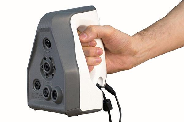 scanner 3D artec spider, pris en main