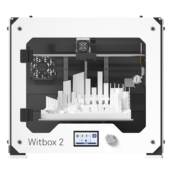imprimante 3Ds bq witbox 2 with 3d print, face