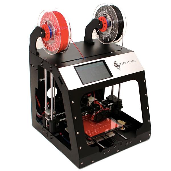 INFINITY 3D Dual Extruder Printer