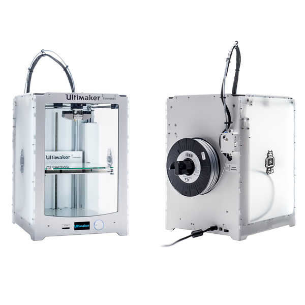 imprimante 3D Ultimaker Ultimaker 2 extended plus perspectives