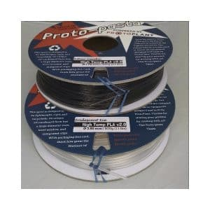 filaments 3D ProtoPasta High Temperature Resistant PLA