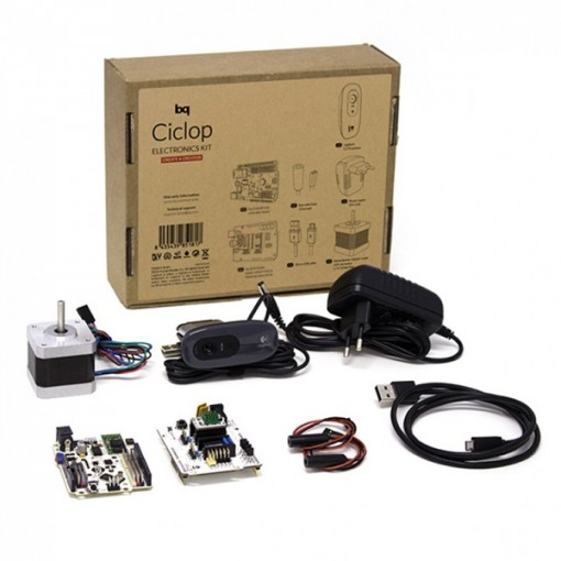 Ciclop Electronic Kit BQ - Scanners 3D