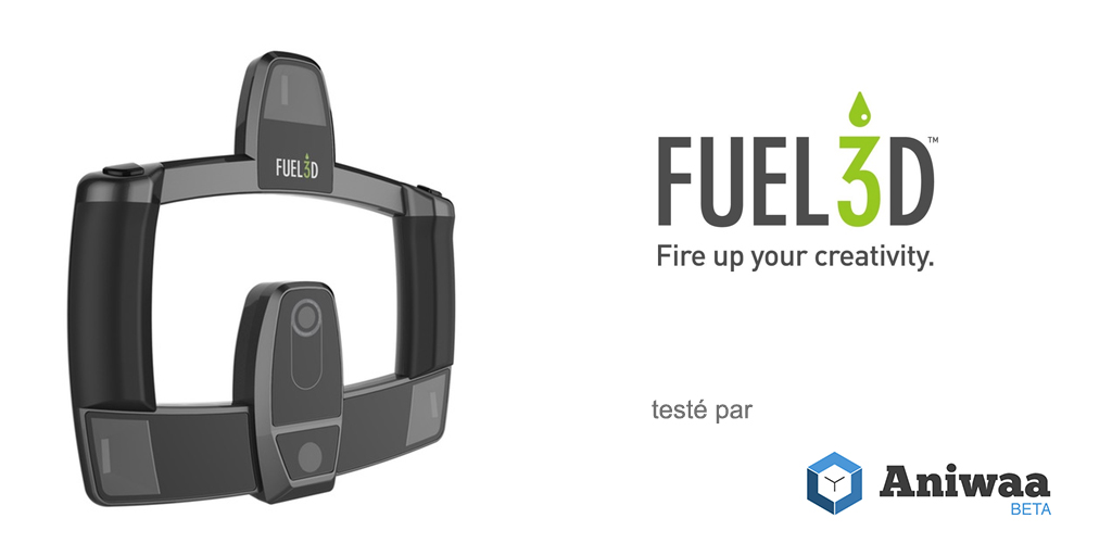 [Test] Le Fuel3D SCANIFY, un scanner 3D portable léger
