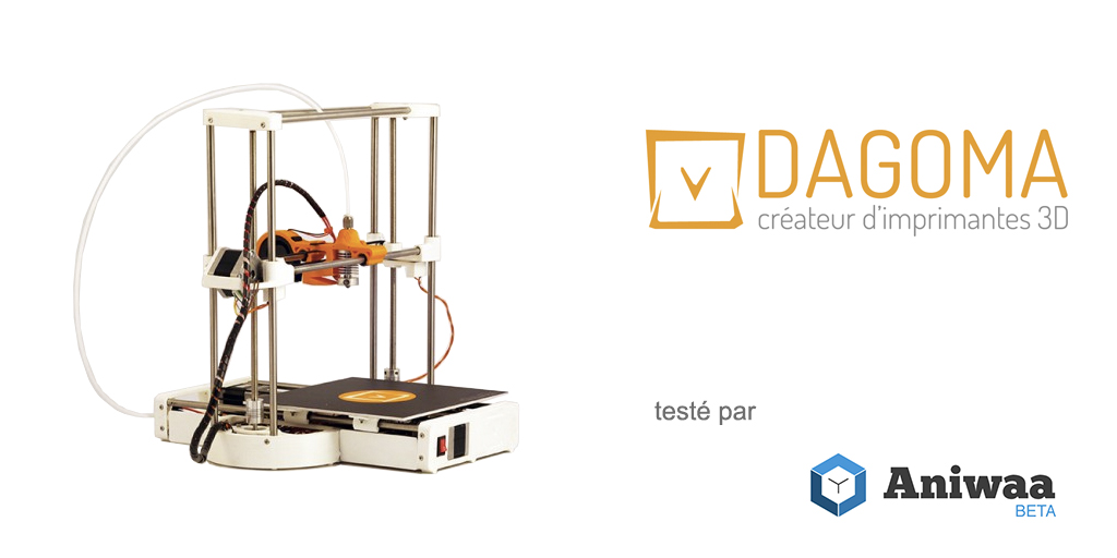 [Test] La Dagoma Discovery200, une imprimante 3D en kit abordable