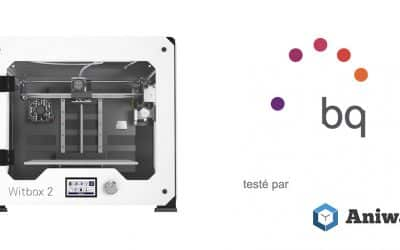 [Test] La bq Witbox 2, une imprimante 3D performante
