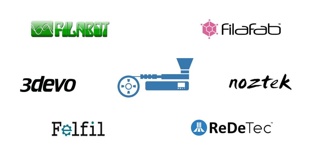 Les meilleurs extrudeurs de filament pour imprimantes 3D