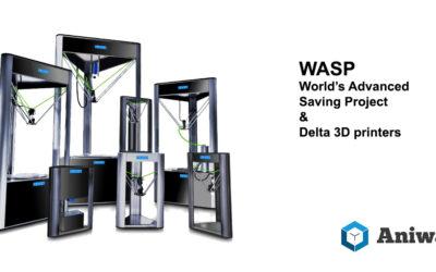 WASP fabrique des imprimantes 3D delta, mais pas uniquement