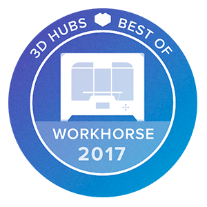 Awards-3D-printer-3D-Hubs-Workhorse-2017