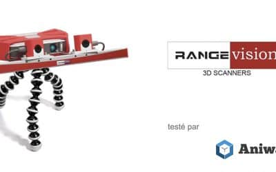 [Test] Le RangeVision Smart, un scanner 3D de bureau abordable