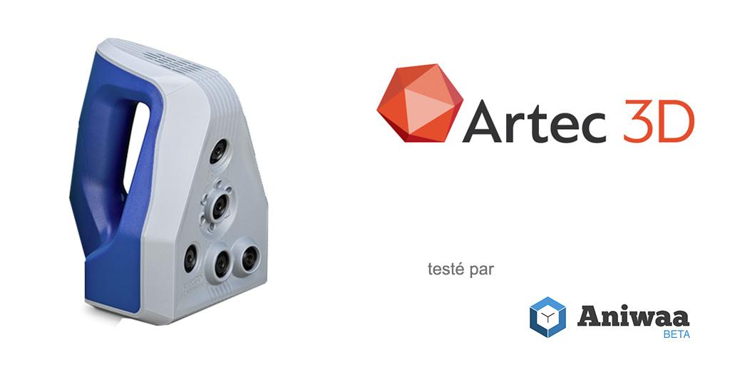 [Essai] Prise en main du Artec Space Spider, un scanner 3D portable