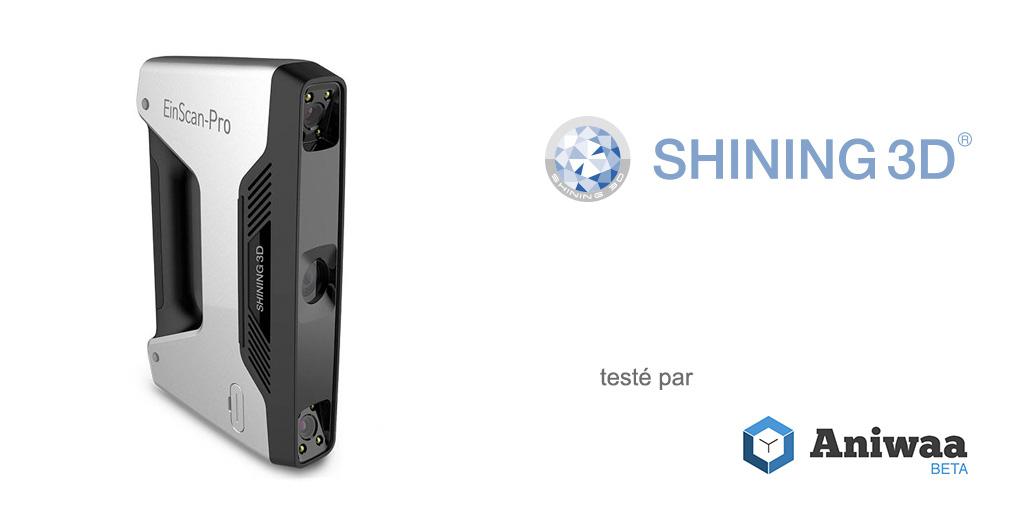 [Essai] Prise en main et test du nouveau Shining 3D EinScan-Pro, un scanner 3D portable