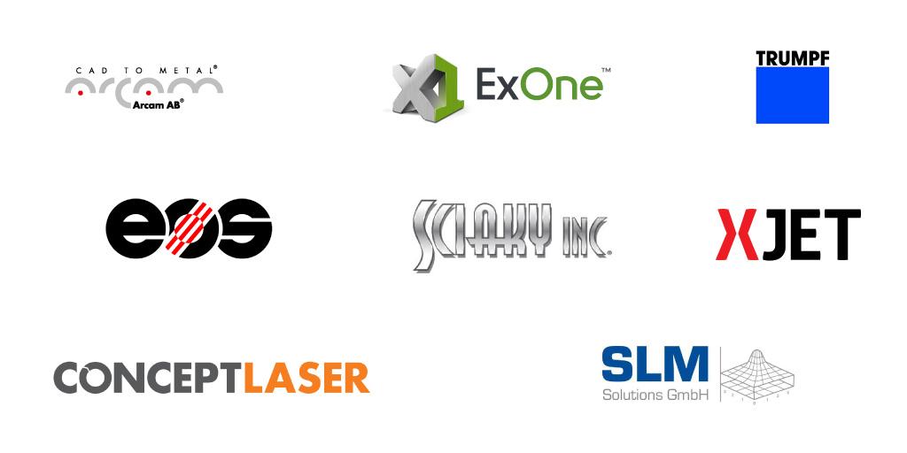 La liste des fabricants d'imprimantes 3D métal et des technologies de fabrication additive métal
