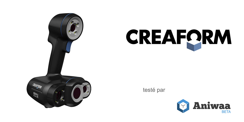 [Essai] Test du Creaform Go!SCAN 50, un scanner 3D portable industriel performant.