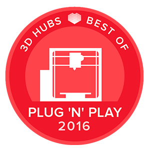Awards-3D-printers-3D-Hubs-Best-Of-PLUG-'N'-PLAY-2016