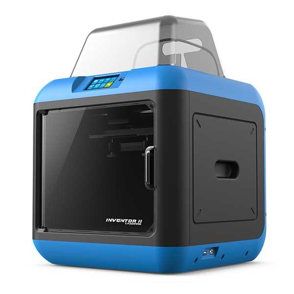 3d printer flashforge inventor 2 perspective aniwaa. Black Bedroom Furniture Sets. Home Design Ideas