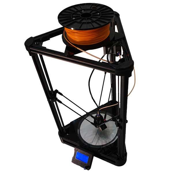 DELTA BLACK Natural Robotics - Imprimantes 3D