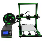 The Anet E10 is a desktop 3D printer delivered as a DIY kit.