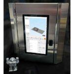 The JuggerBot 3D ME12C is a desktop 3D printer that can 3D print exotic materials such as PEEK and ULTEM.