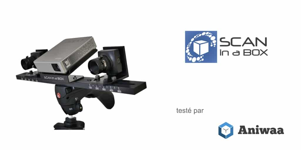 [Test] Scan In a Box (SIAB), un scanner 3D de bureau abordable pour les professionnels par Open Technologies