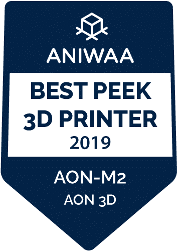 Aniwaa Badge PEEK