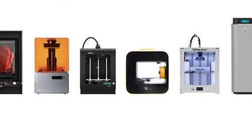 Catégories d'imprimantes 3D