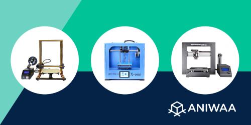 Les 10 meilleures imprimantes 3D à moins de 1000 € en 2019