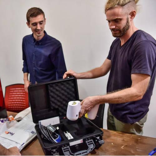 Test peel 3d : un scanner 3D portable professionnel et abordable