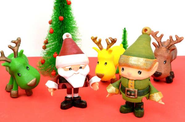 Les 10 meilleurs fichiers STL à imprimer ce Noël