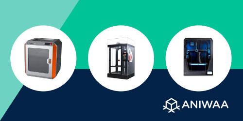 Les 8 meilleures imprimantes 3D grand format en 2021