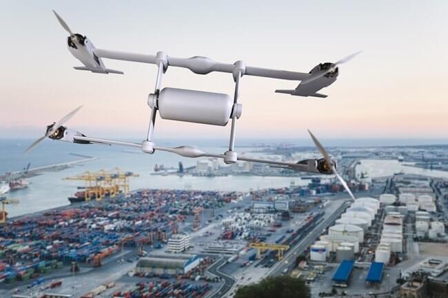 APT (Autonomous Pod Transport) Bell - Drones