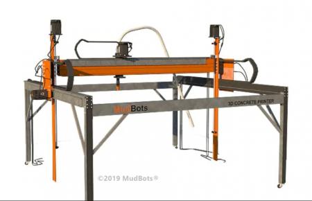 MudBots Concrete 3D Printer MudBots - Imprimantes 3D